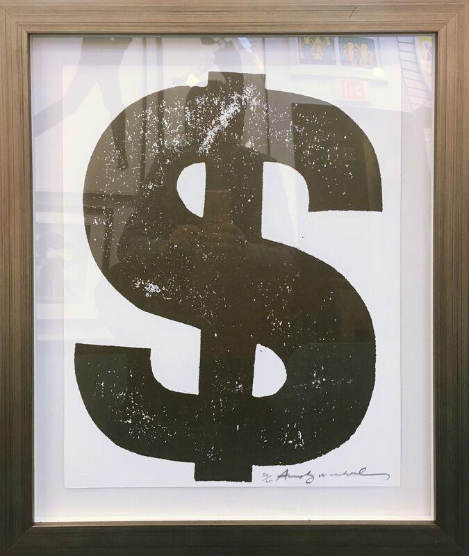 Andy Warhol, '$(1) FS II.277', 1982, Print, SCREENPRINT ON LENOX MUSEUM BOARD, Gallery Art