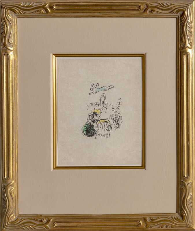 Marc Chagall, 'King David', 1974, Print, Lithograph on Japon, RoGallery
