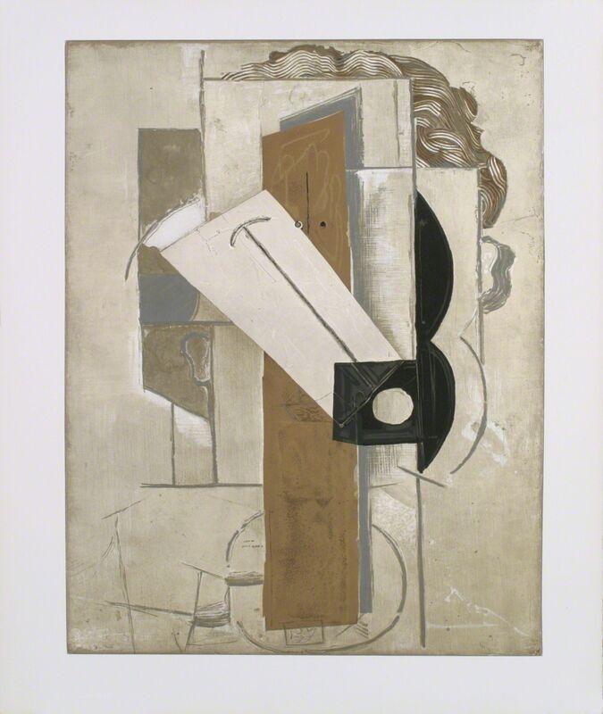 Pablo Picasso, 'Tete de Jeune Fille a La Colombe', 1956, Ephemera or Merchandise, Stone Lithograph, ArtWise