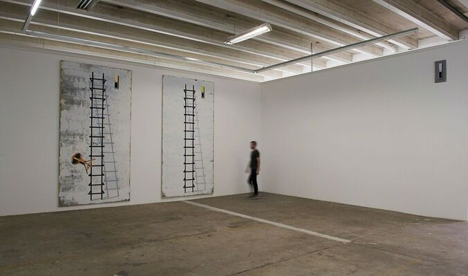 Michael Simpson - Flat Surface Painting, installation view