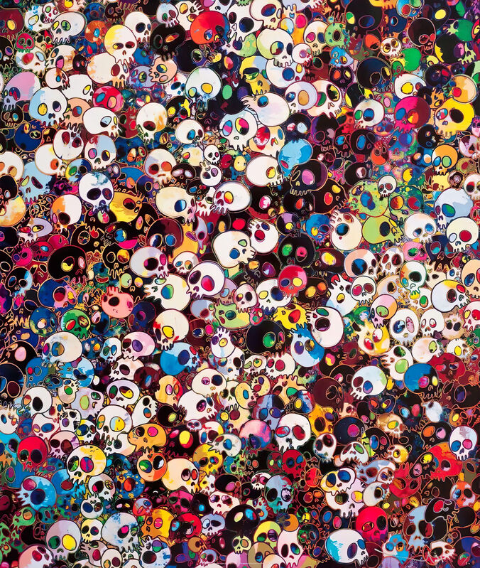 Takashi Murakami, 'There are little people inside me', 2011, Print, Offset Lithograph, Pinto Gallery