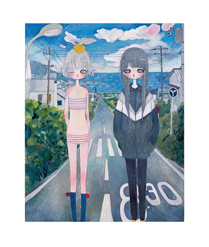 Aya Takano, 'Moment', 2020, Print, Archival Pigment Print + Silkscreen, Pinto Gallery
