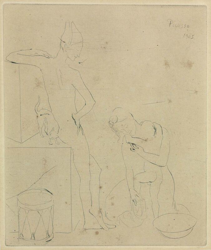 Pablo Picasso, 'Le Bain, from La Suite des Saltimbanques', 1905, Print, Drypoint on Van Gelder paper, Christie's