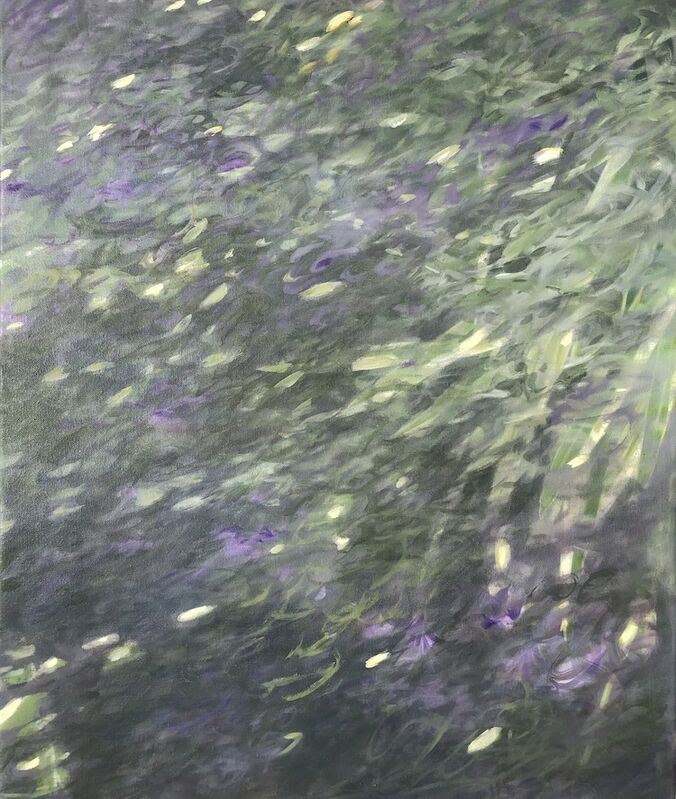 Heidi Palmer, 'Pond Life', 2021, Painting, Oil on canvas, Somerville Manning Gallery