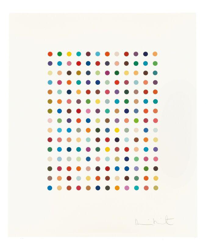 Damien Hirst, 'Ethidium Bromide Aqueous Solution', 2005, Print, Etching in colors on Hahnemühle etching paper, Fine Art Mia