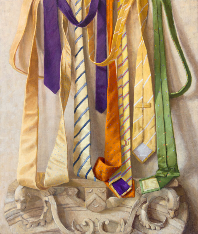 Judith Pond Kudlow, 'Artifacts', 2017, Painting, Oil on linen, Somerville Manning Gallery