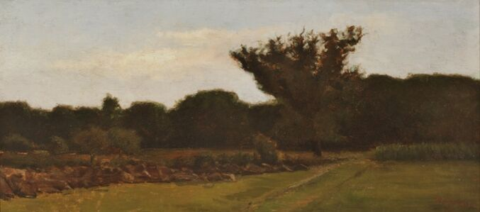 William Sartain, 'Old Meadow', ca. 1890