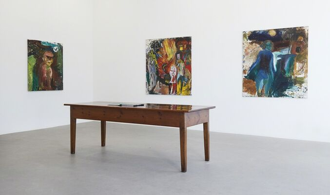 Erland Cullberg, installation view