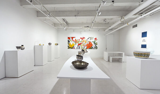 The Four Elements in Japanese Arts: Earth, Air, Fire and Water, installation view