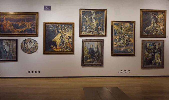 Sergei Chepik, installation view
