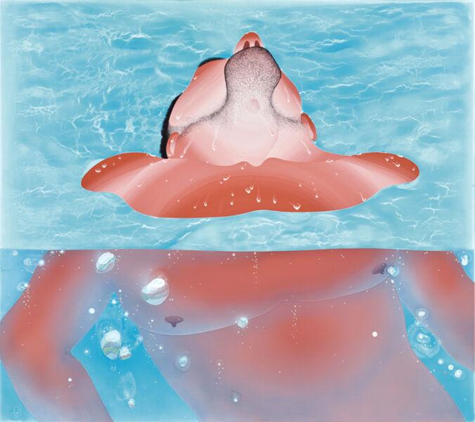 Yang-Tsung Fan, 'Swimming Pool Series-Chin', 2019