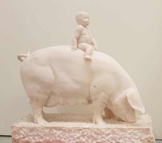 "Gerard Mas, '""Petita estatua porcestre""', 2008"