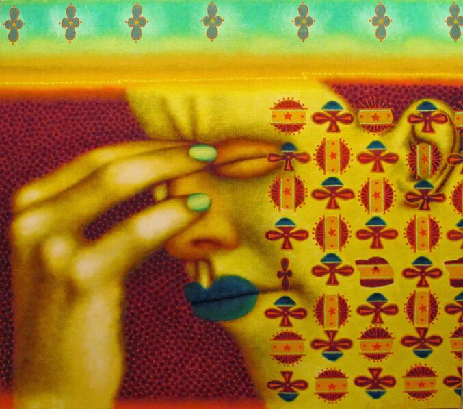 Ed Paschke, 'Migraine', 1996