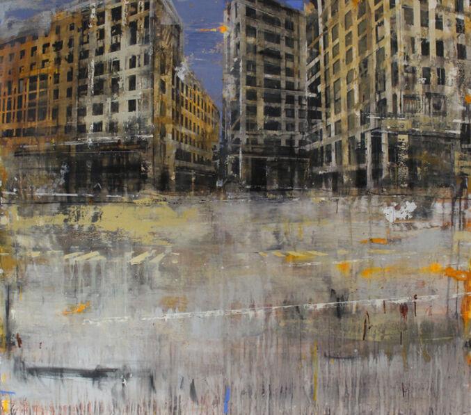 Daniele Cestari, 'Il rumore della città', 2018