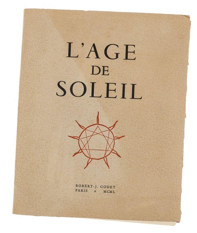 Pablo Picasso, 'Robert-J. Godet, L' Age De Soleil (Cramer 57)', 1950, Books and Portfolios, The complete deluxe book, Forum Auctions
