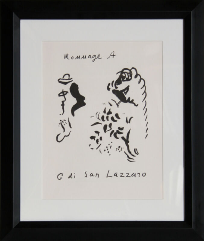 Marc Chagall, 'San Lazarro', 1975, Print, Lithograph, RoGallery