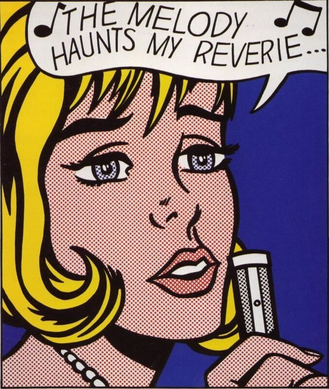Roy Lichtenstein, 'Reverie', 1965, Print, Screenprint on smooth, white wove paper, Coskun Fine Art