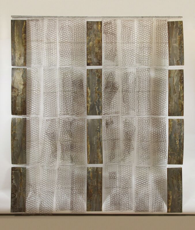Naomi Wanjiku Gakunga, 'Bridges Not Walls', 2015, Sculpture, Sheet metal and steel wire, October Gallery