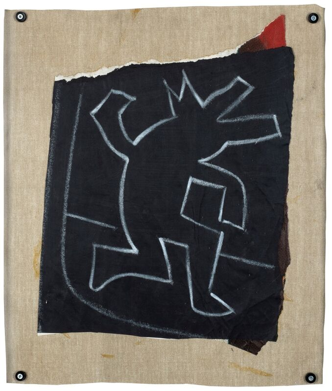 Keith Haring, 'Untitled (Subway Drawing)', 1981, Mixed Media, White chalk, Finarte
