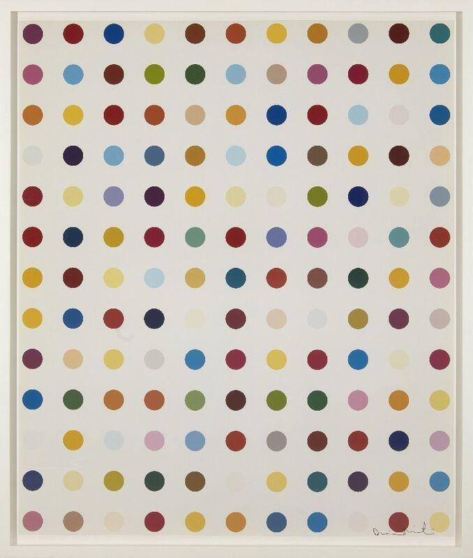 Damien Hirst, 'Lysergic Acid Diethylamide (LSD)', 2000, Photography, Lambda C type print in colours on Gloss Fujicolor professional paper, Roseberys