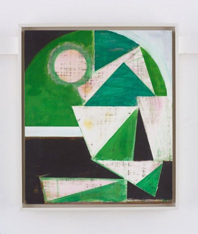 Matthew Burrows, 'Abraham', 2015, Painting, Oil on board, Vigo Gallery