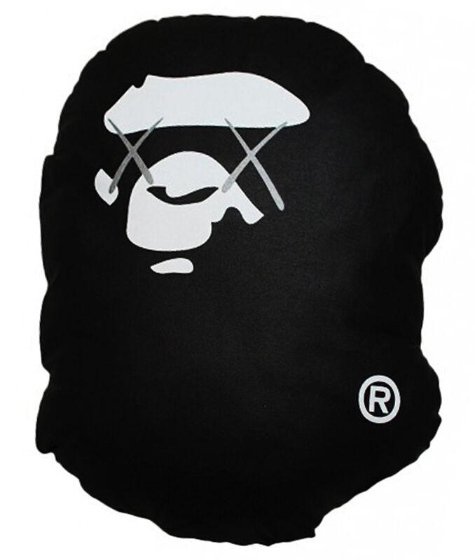 KAWS, 'A Bathing Ape Pillow (Screenprint edition of 100)', 2001, Print, Screenprint on cotton  with polyester fill, EHC Fine Art
