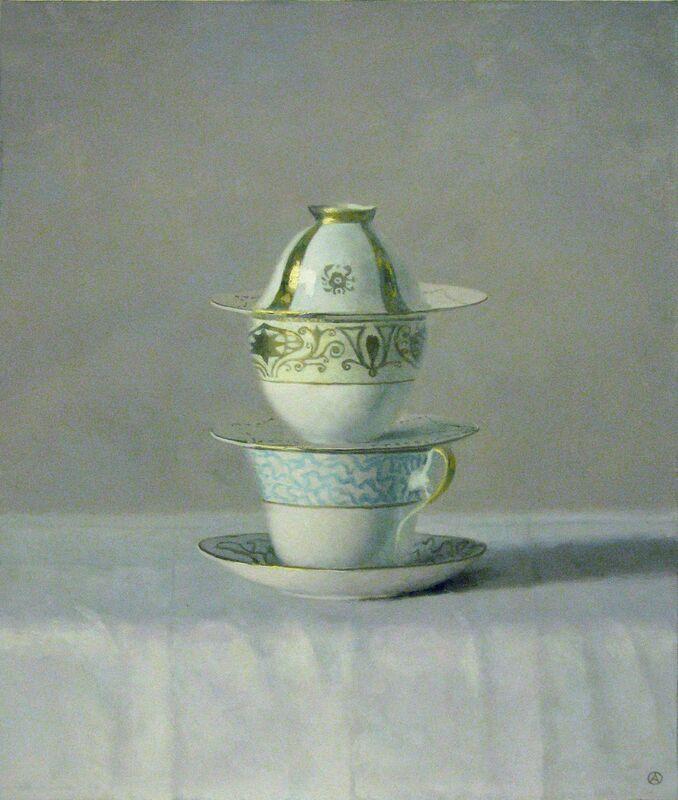 Olga Antonova, 'The Three', 2012, Painting, Oil on Canvas, Gallery Henoch