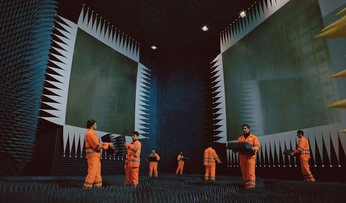 Julian Rosefeldt: Asylum, installation view