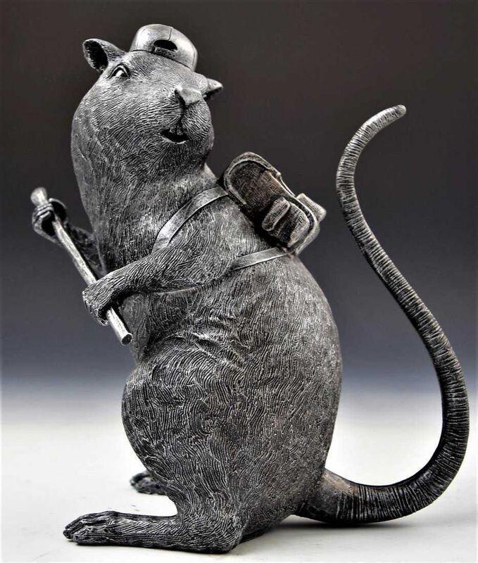 Banksy, 'Black Rat UK ', 2007, Ephemera or Merchandise, Fiberglass and Plastic, End to End Gallery