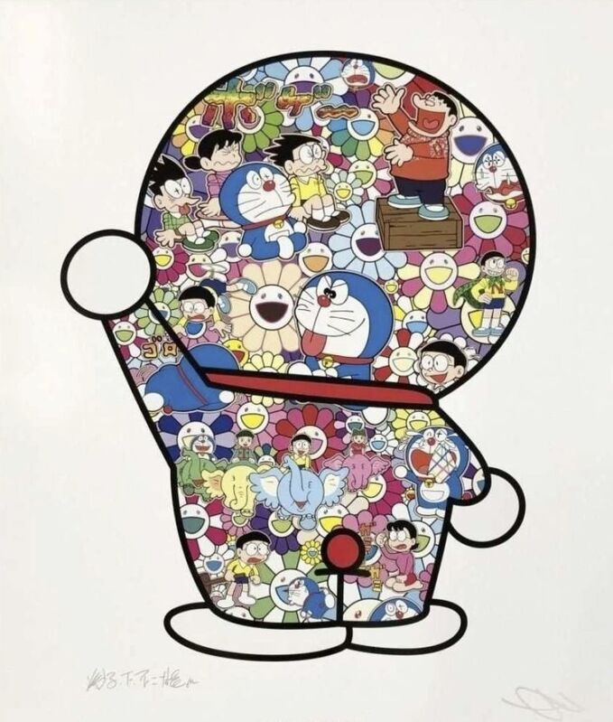 Takashi Murakami, 'Doraemon's Daily Life', 2019, Print, Offset print, Lougher Contemporary