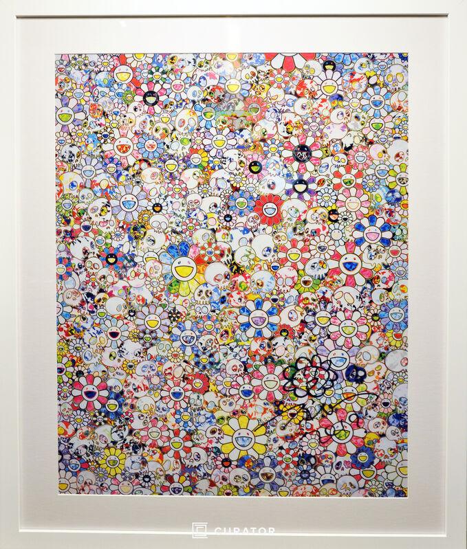 Takashi Murakami, 'MURAKAMI vs MURAKAMI Limited Edition Poster (White)', 2019, Print, Paper, Curator Style