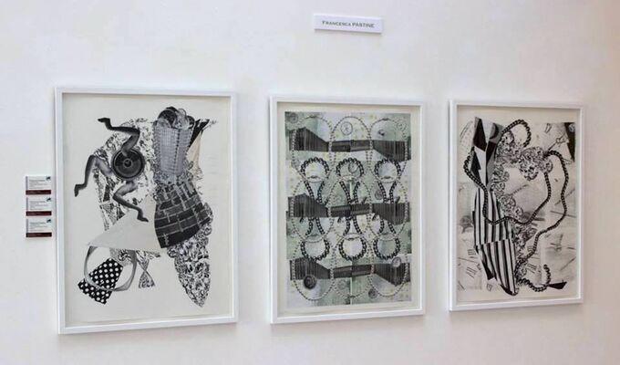 Metamorphic: Collage in Dadaist/Surrealist Tradition, installation view