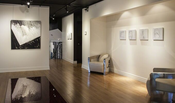Patricia Avellan and Catherine Schmid, installation view