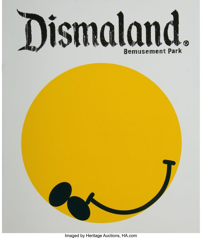 Banksy, 'Dismaland Bemusement Park (Booklet and T-shirt)', 2016, Print, Offset lithographs with cotton t-shirt, Heritage Auctions