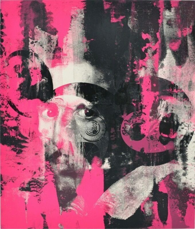 Takashi Murakami, 'Glance Past The Future (Takashi Murakami x Virgil Abloh)', 2018, Print, Silkscreen, Rite Gallery
