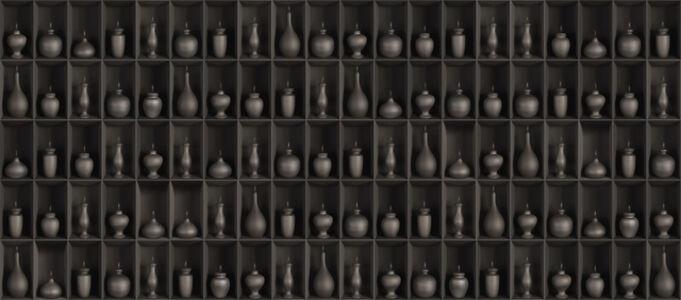 Ruby Rumie, 'Halite Divino - Black Vessels', 2013