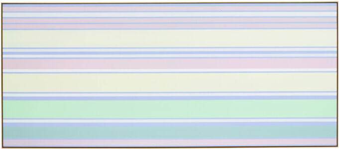 Kenneth Noland, 'Minted Morning', 2003