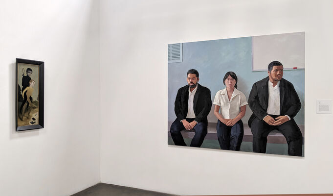 Narrative Painting in Los Angeles, installation view