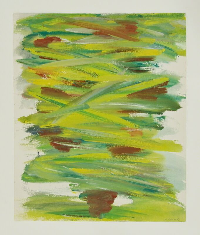 Fernand Leduc, 'Ile de Ré', 1951, Drawing, Collage or other Work on Paper, Gouache on paper, Galerie Roger Bellemare et Christian Lambert