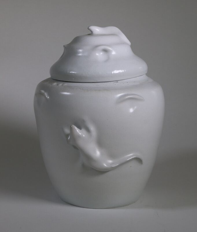 Polly Osborne, 'Lizard Jar', 2020, Design/Decorative Art, Ceramic, Beatrice Wood Center for the Arts