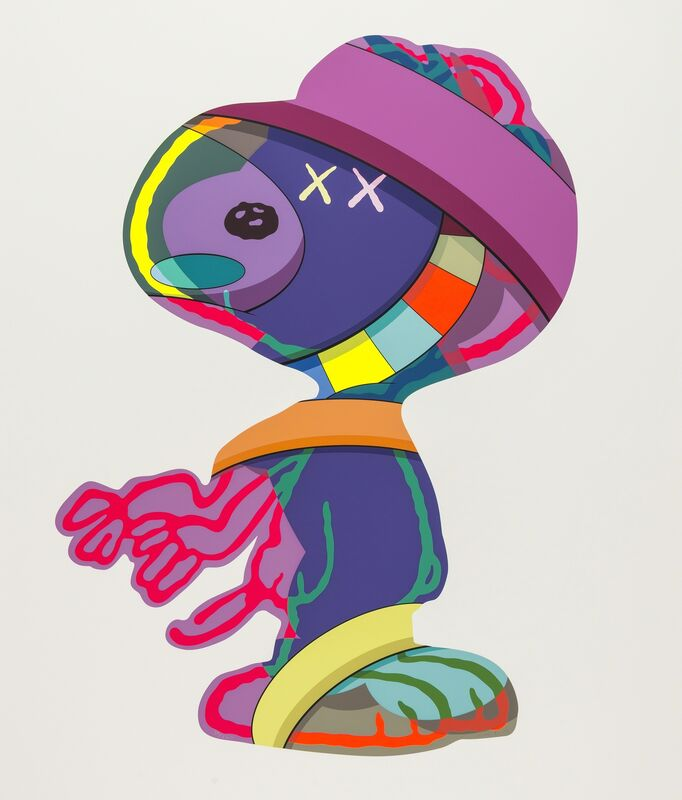KAWS, 'The Things That Comfort', 2015, Print, Screenprint in colours, on wove paper, Forum Auctions