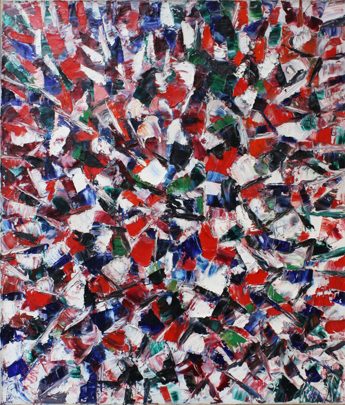 Lise Gervais, 1958, Painting, Oil on canvas, Cosner Art Gallery