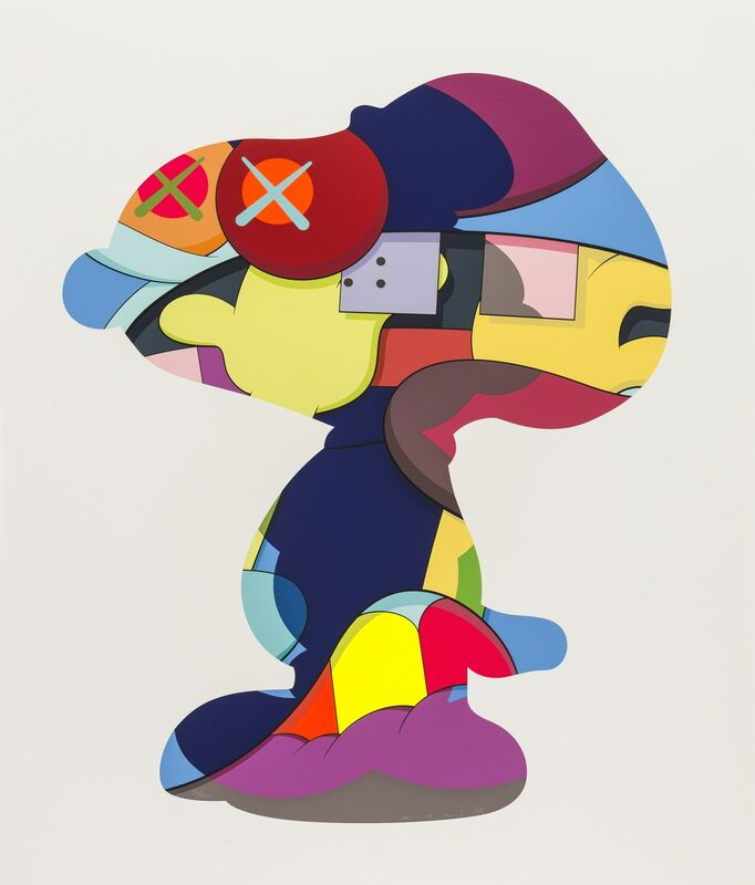 KAWS, 'No One's Home', 2015, Print, Screenprint in colours, on wove paper, Forum Auctions