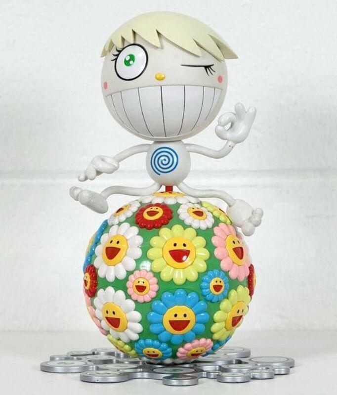 Takashi Murakami, 'Mr. Wink, Cosmos Ball', 2000, Sculpture, Plastic multiple sculpture, with mini compact disc, Caviar20