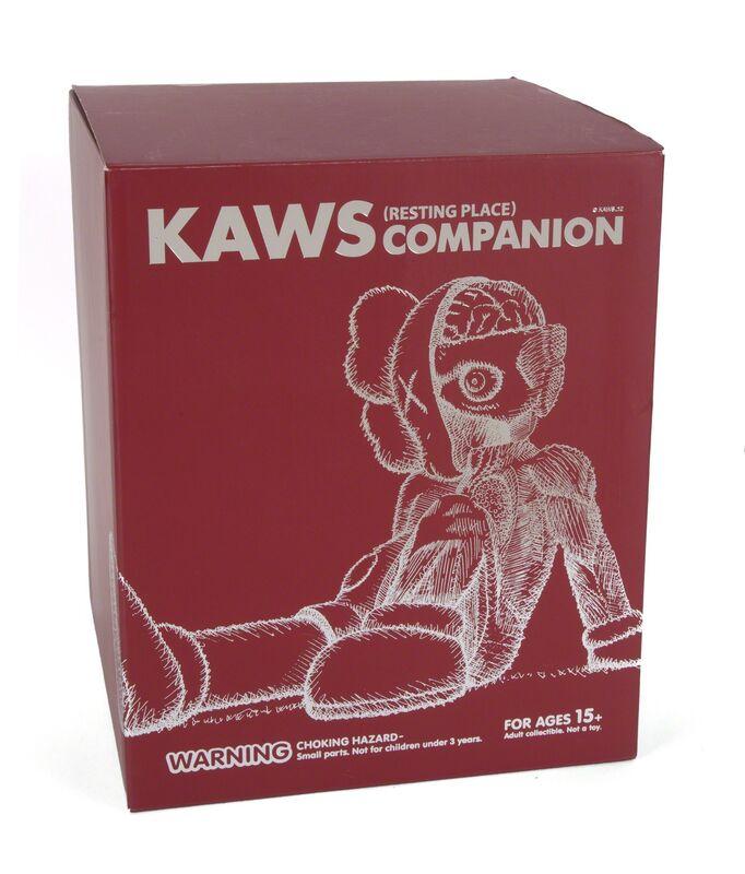 KAWS, 'Resting Place (Brown)', 2012, Sculpture, Painted cast vinyl, Julien's Auctions