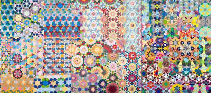 Joyce Kozloff, 'If I Were a Botanist: The Journey III', 2014