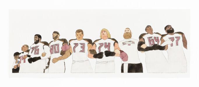 Kota Ezawa, 'National Anthem (Tampa Bay Buccaneers)', 2019