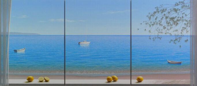 Renato Meziat, 'Three Boats', 2017
