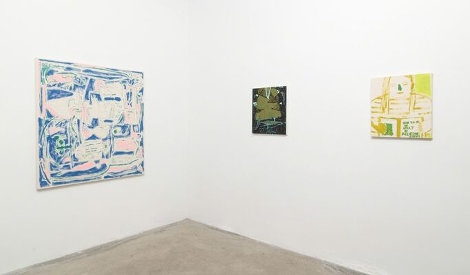 Down The Rabbit Hole, installation view