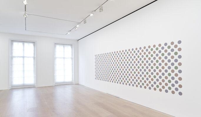 Bridget Riley: Recent Paintings 2014-2017, installation view